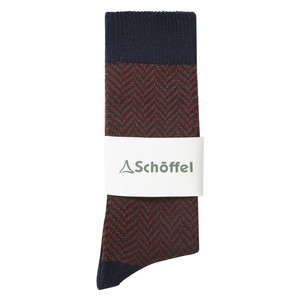 Schoffel Country Halkirk Sock in Navy