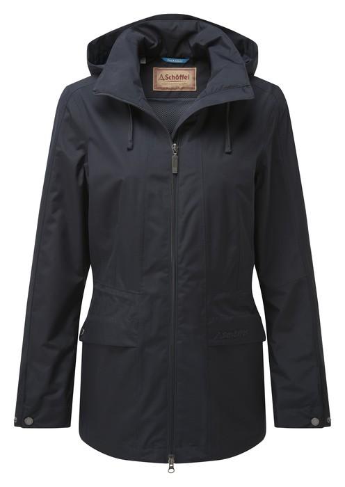 Schoffel Country Hazelwood Coat Navy Blue