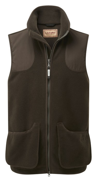 Schoffel Country Gunnerside Shooting Vest Dark Olive