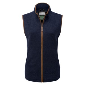 Schoffel Country Ladies Lambswool Aerobloc Gilet in Navy
