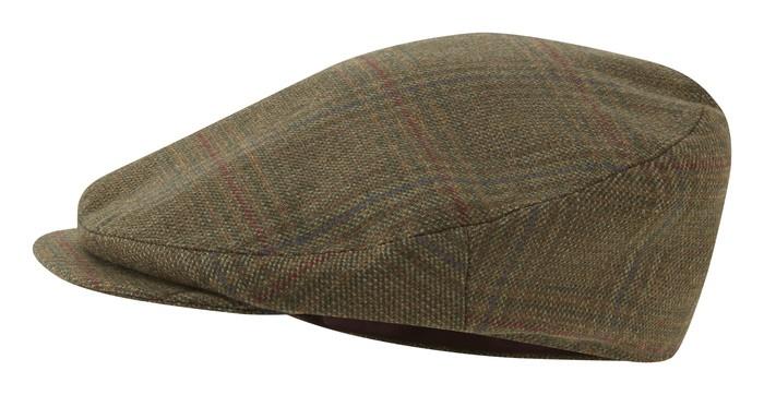 Schoffel Country Countryman Tweed Cap Buckingham Tweed