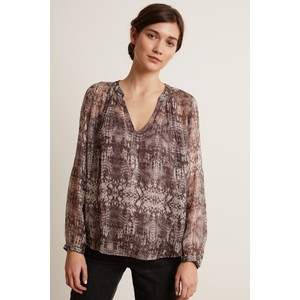 Peyton Python Top w Slip Brown