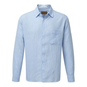 Schoffel Country Thornham Shirt in Lt Blue Stripe