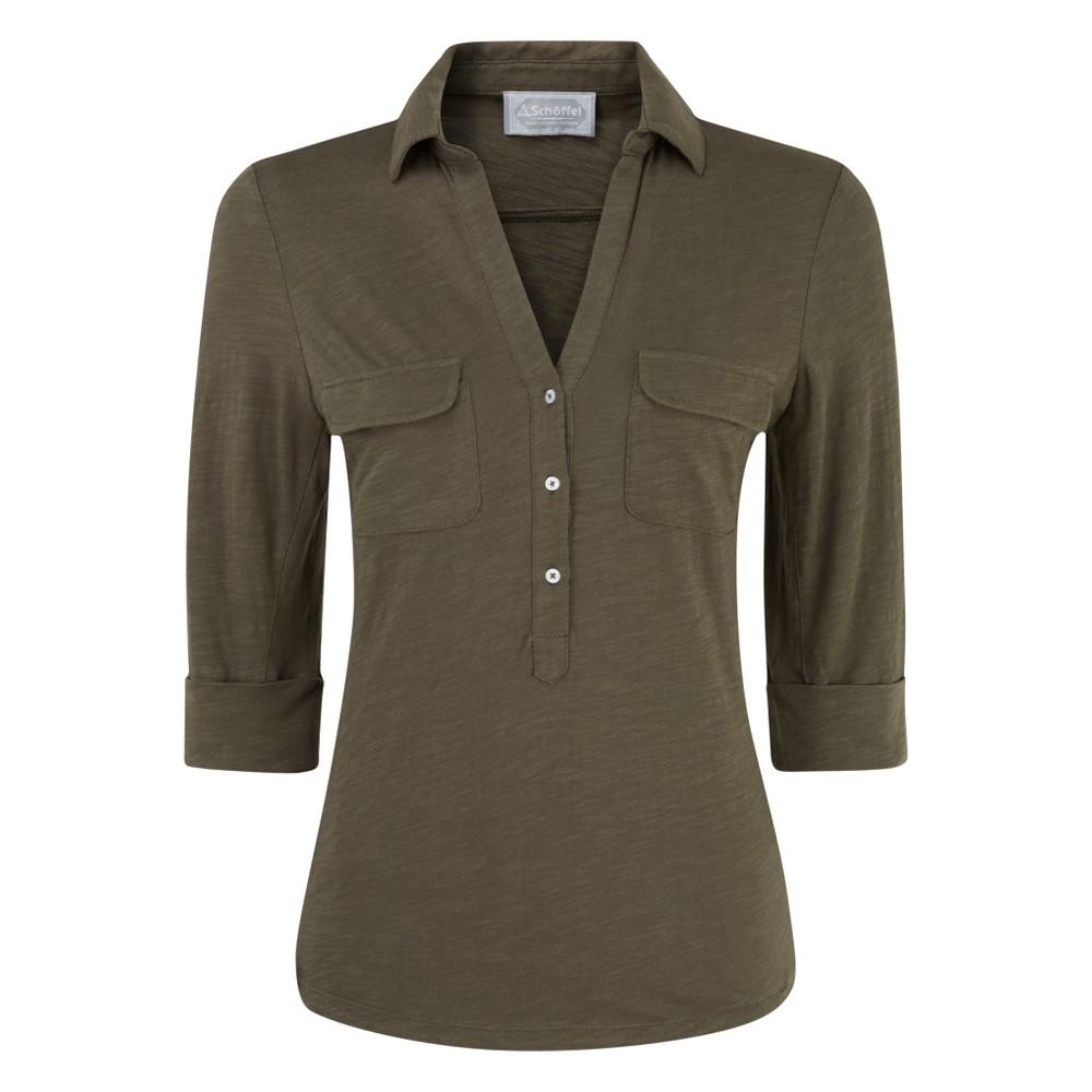 Schoffel Country Marina Jersey Shirt Dark Olive