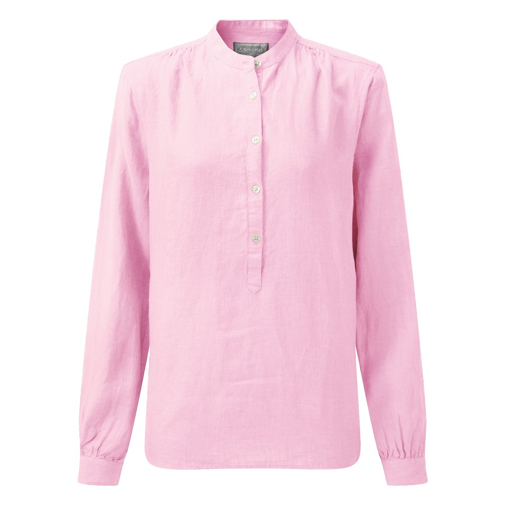 Schoffel Country Athena Linen Shirt Pink
