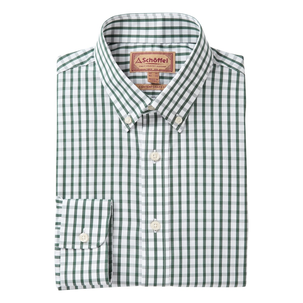 Schoffel Country Harlyn Shirt Sage Check