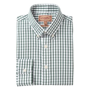 Harlyn Shirt Sage Check