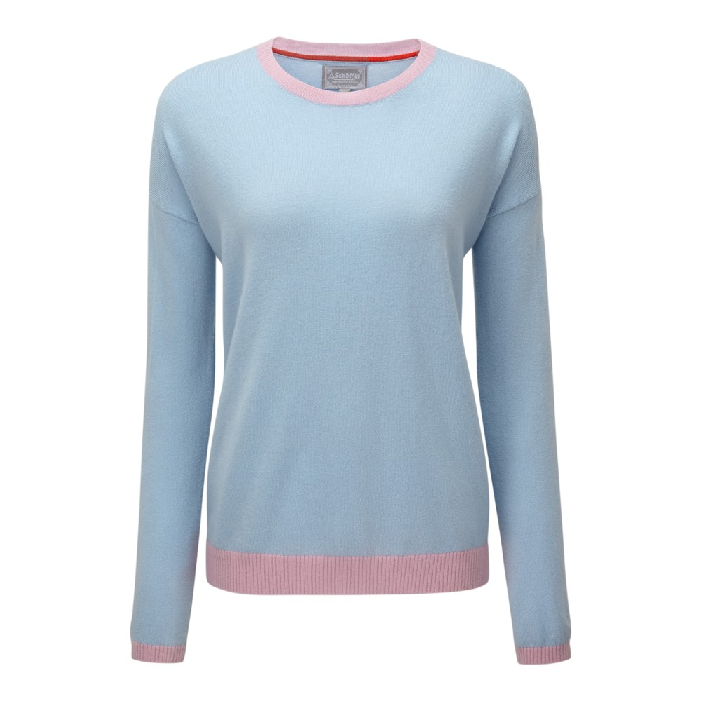 Schoffel Country Jessica Jumper Cornflower Blue