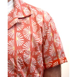 Slam 02 MC Fan Print Shirt Red/White