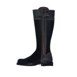 Standard Tassel Boot Black/Slate