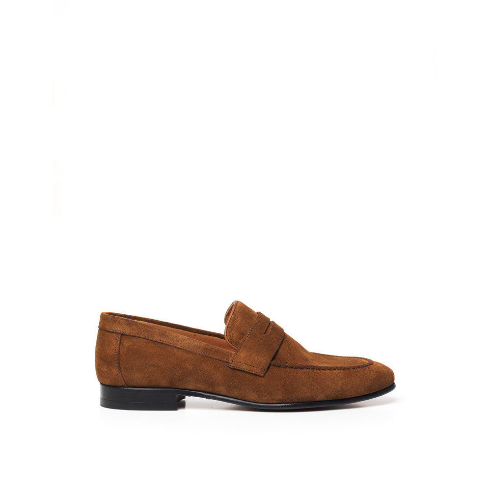 Fairfax & Favor The Balmoral Suede Loafer Tan