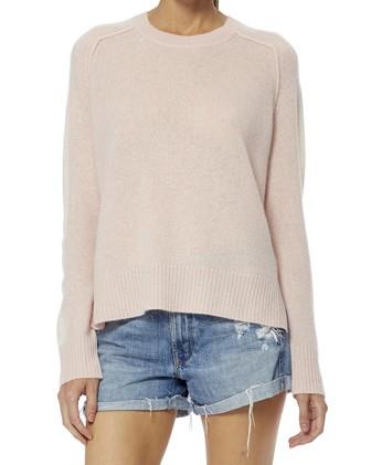 360 Sweater Talulah Arm Stripe Jumper Honey Pink/White