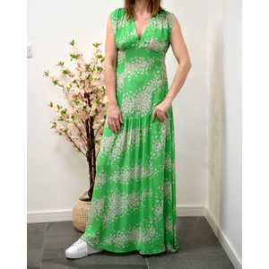 Jupiter Leo Galaxy Dress Green/Pink