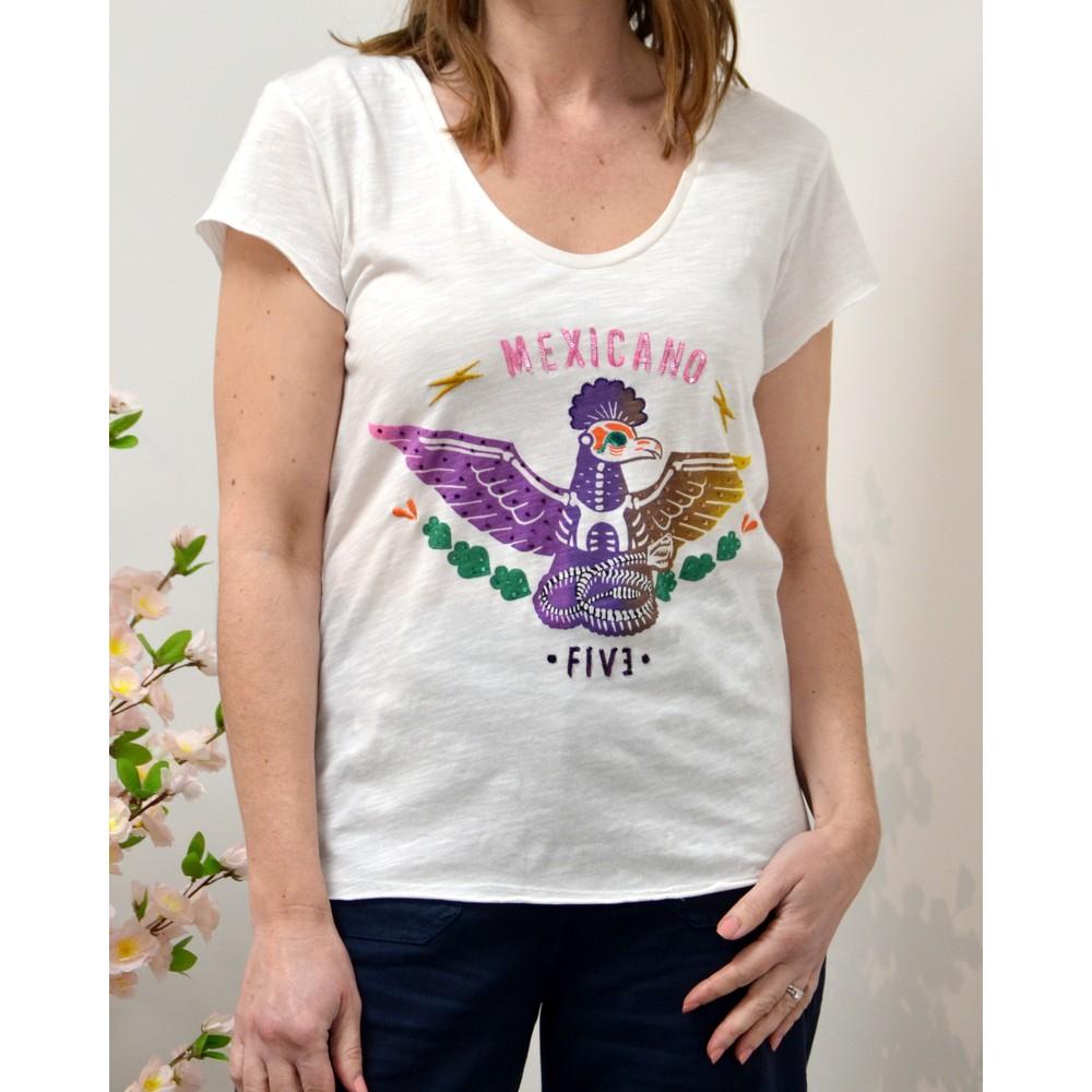 Five Mexicano T-Shirt White