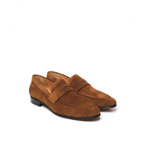 The Balmoral Suede Loafer Tan