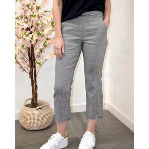 Sulmona Check Trousers Black/White