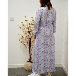 Primrose Park Josie Tiger Shift Dress Pink/Blue