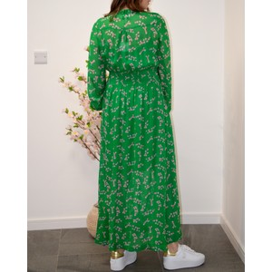 Primrose Park Kate L/S Silver Dollar Dress Green
