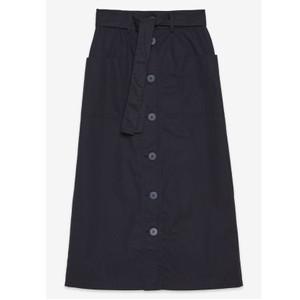 Ottod'Ame Two Pk Button Through Skirt Navy