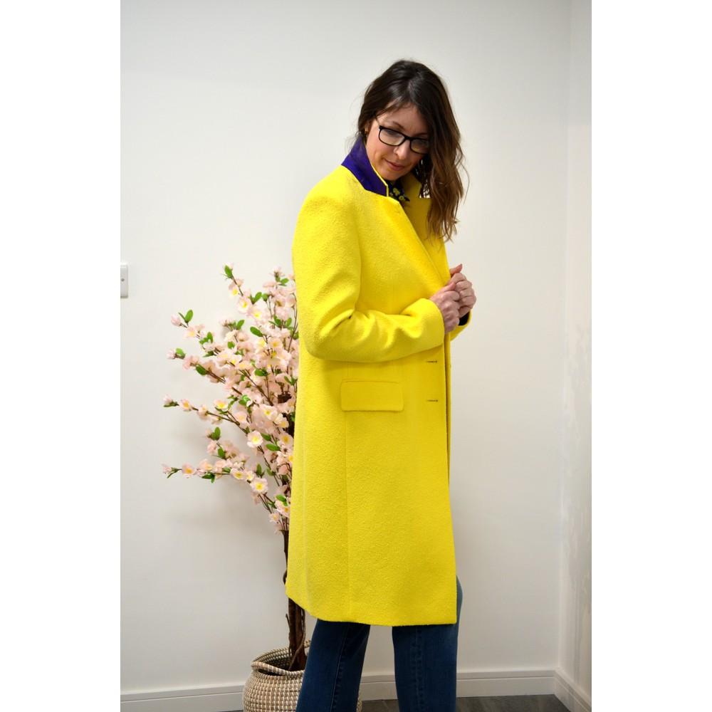 Paul Smith Womens Single Breasted Cotton Coat Acid