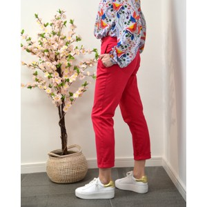 Boyfriend Fit Trousers Blood Pink