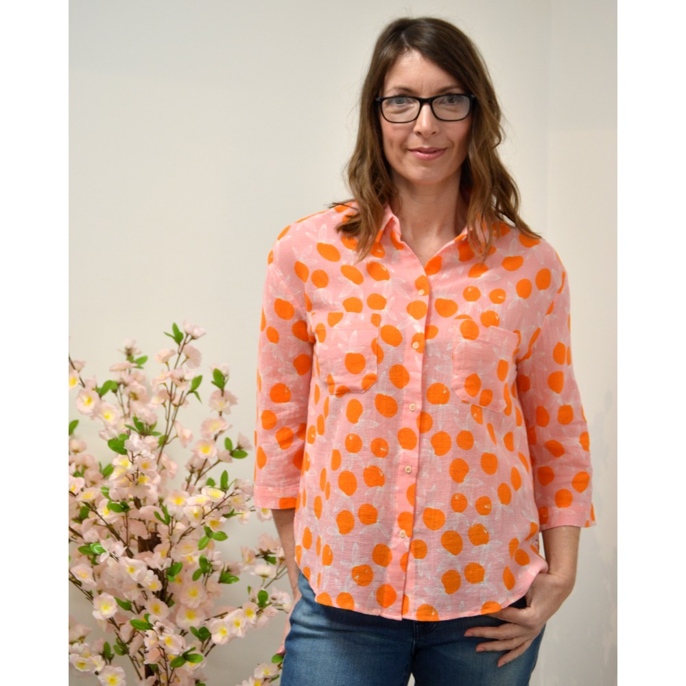 Sacrecoeur Simone Citrus Shirt Pink/Orange