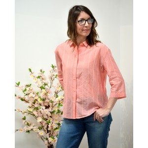Simoneta Smoothie Stripe Shirt Rose