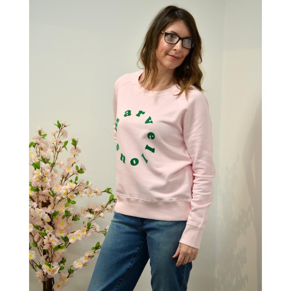 Jumper 1234 Marvellous Sweatshirt Blossom/Green