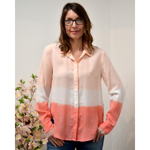 Classic Hipster Shirt Bright Coral