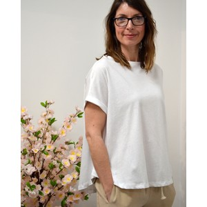 Ottod'Ame Cotton Swing T-shirt White
