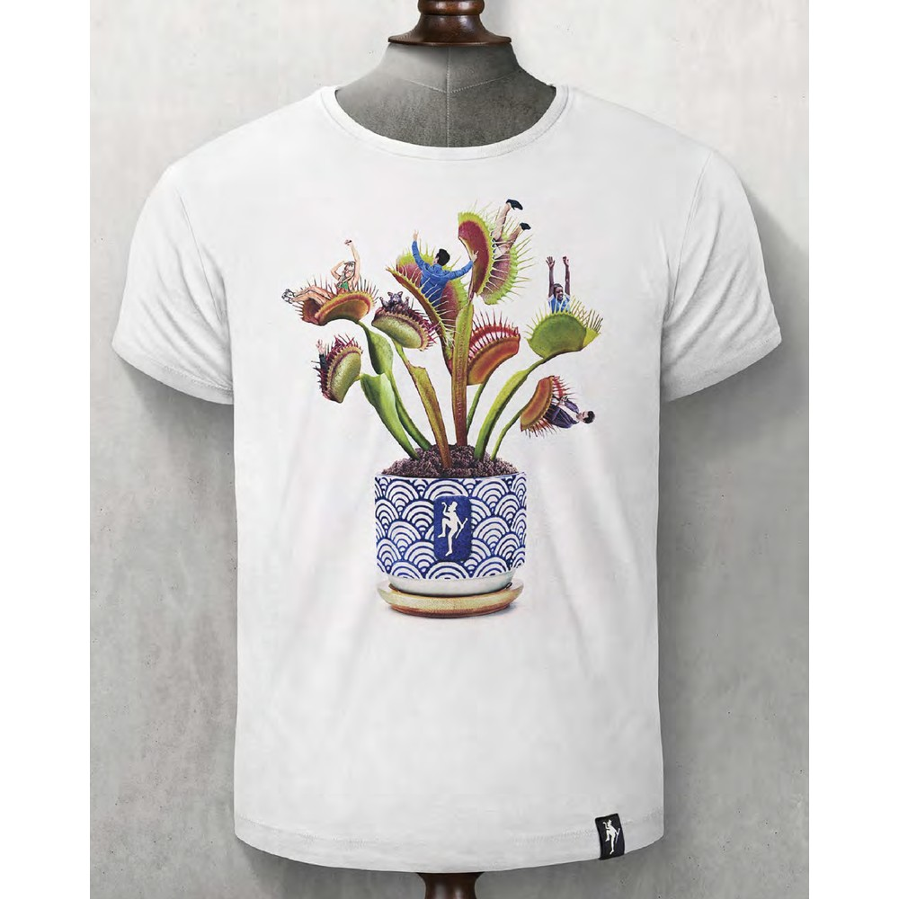 Dirty Velvet Plant Food T Shirt Vintage White