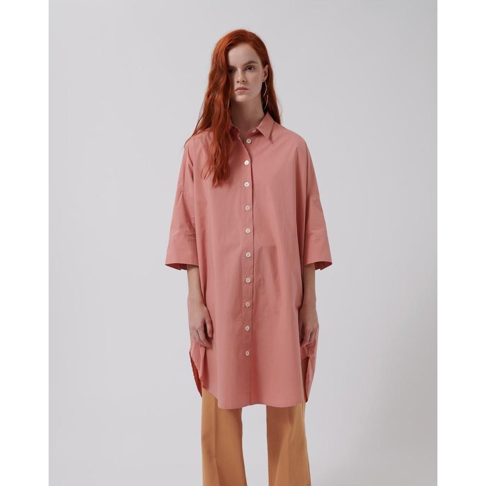 Loreak Milo O/Sized Shirt Dress Rose