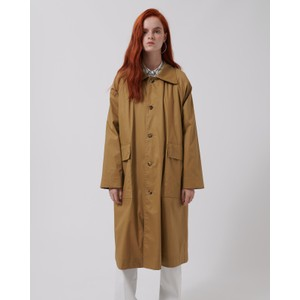 Cloud Oversized Coat Caramel