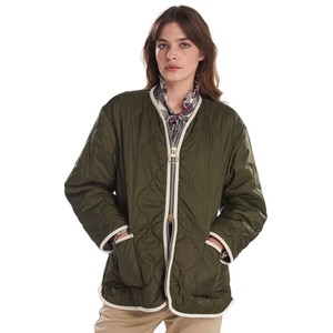 Barbour Darcy Quilt Olive