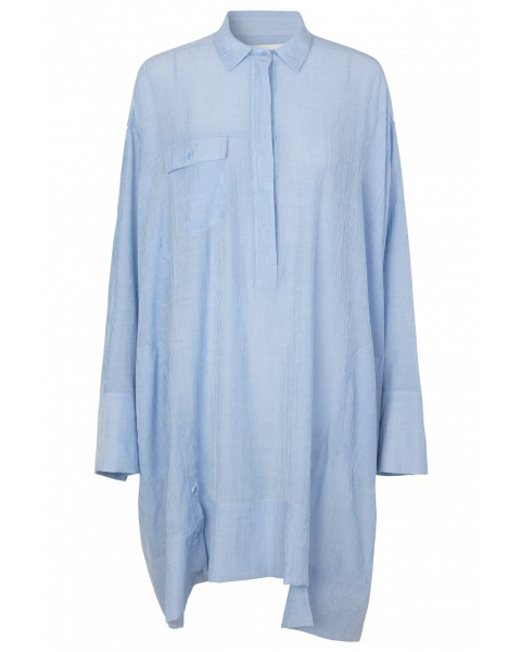 Munthe Edson O/Sized Shirt Dress Blue