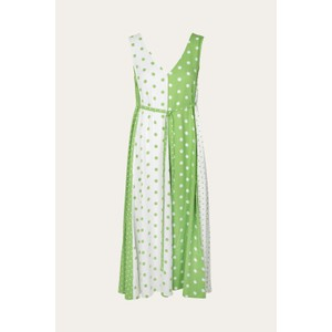 Yara S/L Dots Drs Green/White