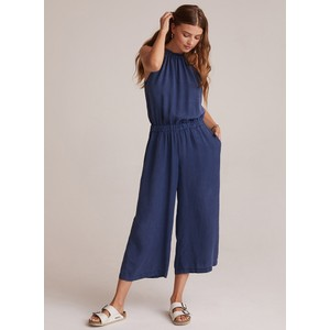 Strappy Wide Leg Jumpsuit Navy