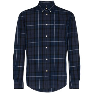 Sandwood Check Shirt-Tailored Inky Blue