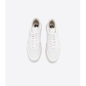 Veja V-10 Leather Trainer Extra White