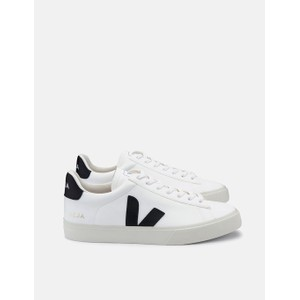 Campo Leather Trainer White/Black