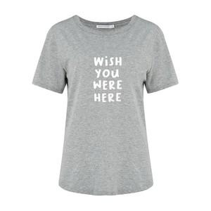 Lola Wish You Were Here Tee Grey