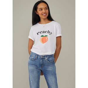 Lola Peachy T Shirt White