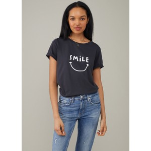 Lola Smile T Shirt Black
