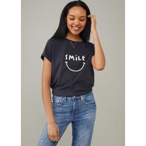 South Parade Lola Smile T Shirt Black