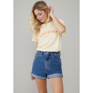 South Parade Jane Tourist T Shirt Vanilla