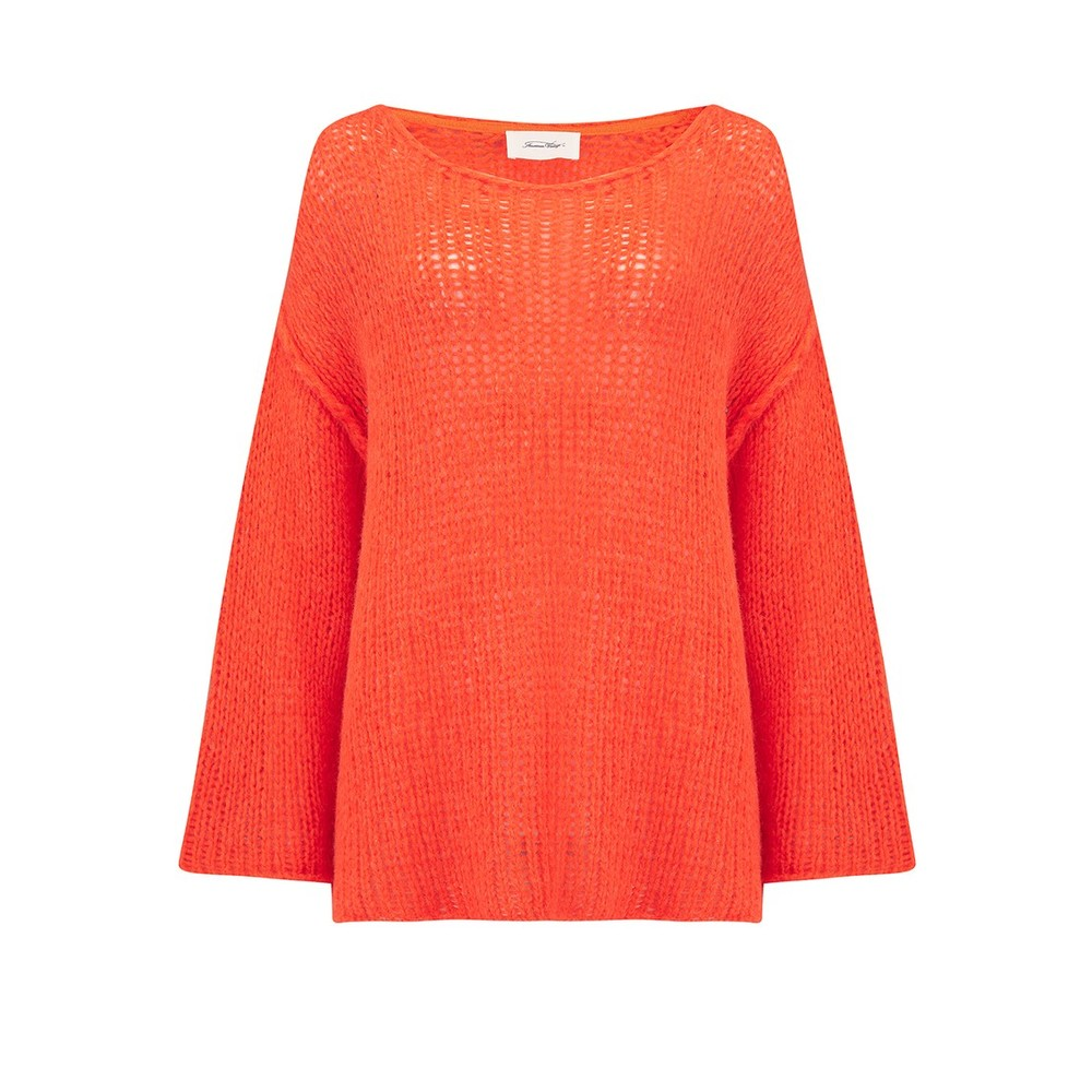 American Vintage Piuroad Loose Knit Wide Jumper Disco