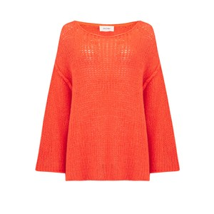 Piuroad Loose Knit Wide Jumper Disco
