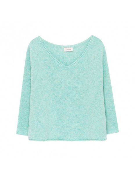 American Vintage Vacaville V/N Chunky Knit Baby Blue