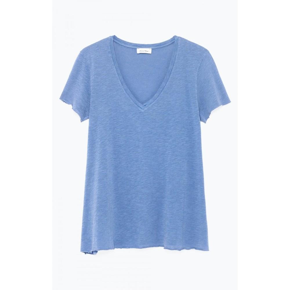 American Vintage Kobibay Low V T-Shirt Vintage Wave