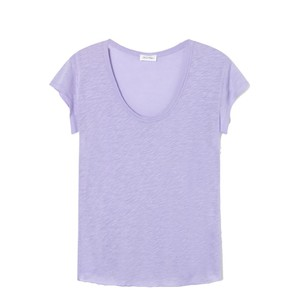 Lorkford Scoop Nk T Shirt Violet